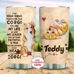 Corgi Personalized KD2 MAL1310011 Stainless Steel Tumbler