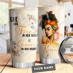 Black Women Personalized DHA3009002 Stainless Steel Tumbler