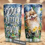 Pomeranian Starry Night Personalized HTR2509029 Stainless Steel Tumbler
