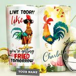 Chicken Personalized HTQ3009025 Stainless Steel Tumbler