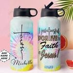 Faith KD4 Personalized MDA0110019 Stainless Steel Bottle With Straw Lid