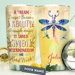 Dragonfly KD4 Personalized HHA0810022 Stainless Steel Tumbler
