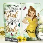 Big Girl Personalized HHE3009016 Stainless Steel Tumbler