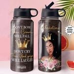 BW KD4 Personalized MDA0310005 Stainless Steel Bottle With Straw Lid