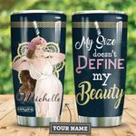 Big Girl Personalized HHE2809012 Stainless Steel Tumbler