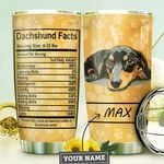 Dachshund Fact Personalized MDA1210037 Stainless Steel Tumbler