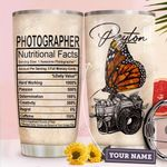 Photographer Facts Personalized THA2110029 Stainless Steel Tumbler