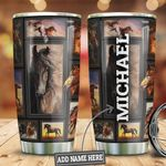 Personalized Horse Lover HLZ2110013 Stainless Steel Tumbler