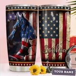 Horse America Personalized TTR2210007 Stainless Steel Tumbler