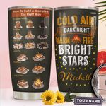 Hiking Fire Personalized HTC2210009 Stainless Steel Tumbler
