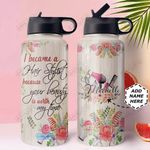 Hairstylist Personalized MDA2210026 Stainless Steel Bottle With Straw Lid