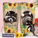 Raccoon Personalized MDA2210034 Stainless Steel Tumbler