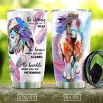 Strong Native Horse KD2 HAL2210014 Stainless Steel Tumbler
