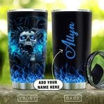 Skull Hell Fire Personalized KD2 HAL2210013 Stainless Steel Tumbler