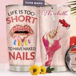Nail Personalized MDA2310026 Stainless Steel Tumbler