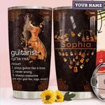 Acoustic Guitar Personalized TTR2310009 Stainless Steel Tumbler