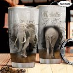 Elephant Personalized HTR2310015 Stainless Steel Tumbler