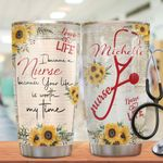 Nurse Personalized HHA1710017 Stainless Steel Tumbler