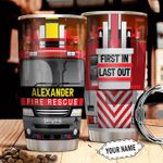 Firefighter Truck Personalized THA2610039 Stainless Steel Tumbler