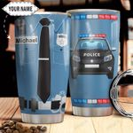 Police Personalized HTC2610009 Stainless Steel Tumbler