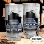Police Crack Personalized HTC2610004 Stainless Steel Tumbler