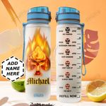 Skull Personalized HTC2610014 Water Tracker Bottle