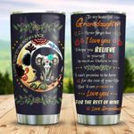 Sugar Skull Elephant Granddaughter PYZ2610013 Stainless Steel Tumbler