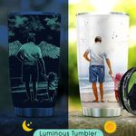 Your Wings Were Ready But My Herat Was Not Dad KD2 KHX2610006 Luminous Stainless Steel Tumbler