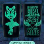 Baby Wolf Angel KD2 ZZL2610021 Luminous Stainless Steel Tumbler
