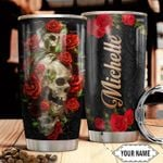 Skull Personalized HTC2710015 Stainless Steel Tumbler
