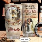 Native American Personalized HTC2710011 Stainless Steel Tumbler