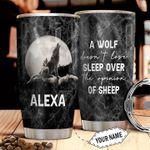 Wolf Personalized THA2710031 Stainless Steel Tumbler