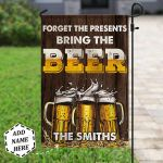 Personalized Bring Beer PYZ2710003 Flag