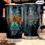 Owl Personalized HHA2810005 Stainless Steel Tumbler