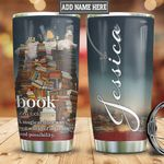 Personalized Book Lover Adventure HLZ2810016 Stainless Steel Tumbler