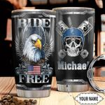 Biker Personalized HTC2810017 Stainless Steel Tumbler
