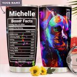 Boxer Facts Personalized MDA2910013 Stainless Steel Tumbler