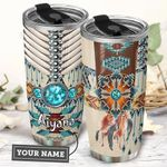 Native American Personalized THA2910023 Stainless Steel Tumbler