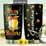 Softball Mom Personalized DNR3010031 Stainless Steel Tumbler