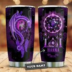 Purple Dragon Dreamcatcher Personalized KD2 ZZL3010006 Stainless Steel Tumbler