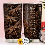 Dragonfly Personalized HTR3110022 Stainless Steel Tumbler