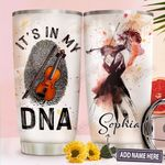 Violin Personalized TTR3110035 Stainless Steel Tumbler
