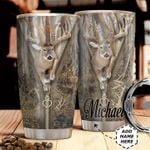 Deer Hunt Personalized HHA3110003 Stainless Steel Tumbler
