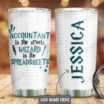 Personalized Accountant Wizard HLZ3110012 Stainless Steel Tumbler