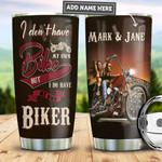 Personalized Biker Wife PYZ3110019 Stainless Steel Tumbler