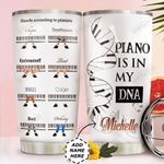 Piano Personalized HTC0211009 Stainless Steel Tumbler