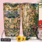 Dragonfly Personalized NNR0211022 Stainless Steel Tumbler