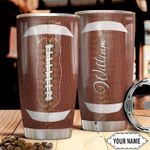 American Football Personalized TTR0211016 Stainless Steel Tumbler