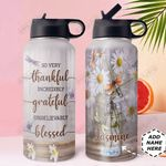 Dragonfly Personalized DNR0211004 Stainless Steel Bottle With Straw Lid