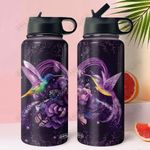 Hummingbird NNR0211008 Stainless Steel Bottle With Straw Lid